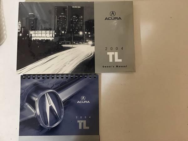 Photo New Sealed Acura 2004 TL Factory Owner39s Manual - $20 (South Pasadena)