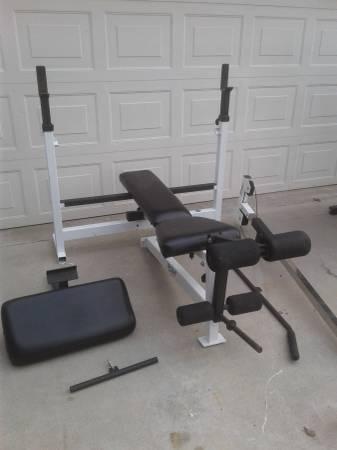 Photo Olympic bench - $400 (palmdale)
