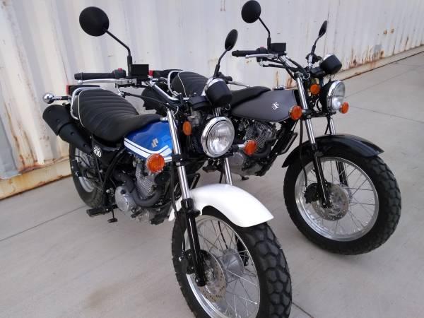 Photo Pair of Suzuki VanVan200 like TW200 - $3,750 (Mojave)