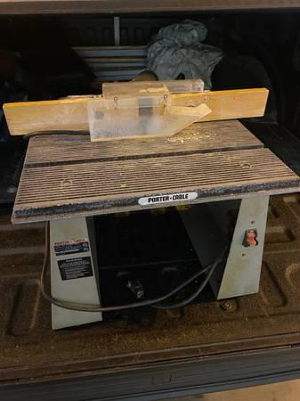 Photo Porter Cable 698 Shaper Table - $50 (Venice)