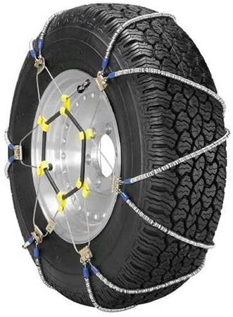 Photo Security Snow Tire Chains ZT729 Easy OnOff Fits Many Sizes - $50 (TORRANCE AREA)
