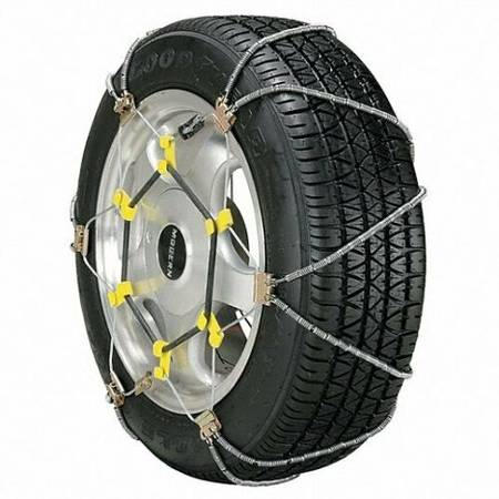 Photo Security Snow Tire Chains ZT741 Easy OnOff Fits Many Sizes - $50 (TORRANCE AREA)