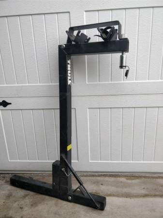 Photo Thule Rak N Loc secure locking 2 bike rack carrier - 2quot trailer hitch - $125 (La Puente)