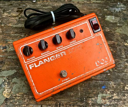 Photo Vintage DOD Electronics Flanger 670 Guitar Effects Pedal - $119 (Woodland Hills)