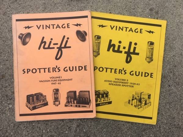 Photo Vintage Hi-Fi Spotter39s Guide Vol. 1 2 - $40 (Venice)