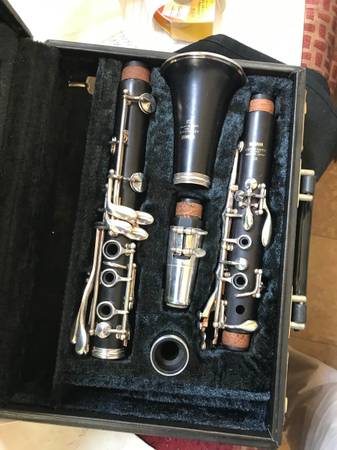 Photo Yamaha CX professional wood clarinet in mint condition - $700 (Rowland Heights)