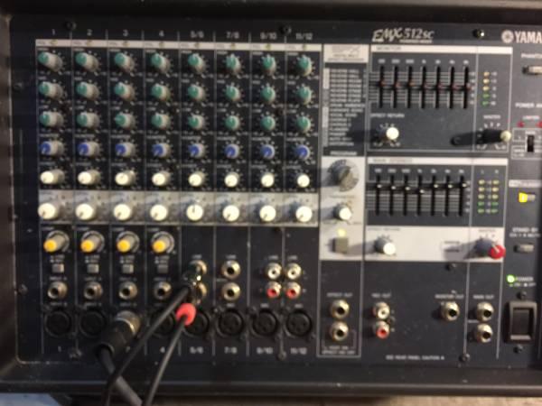Photo Yamaha emx 512sc power mixer - $250 (El Monte)