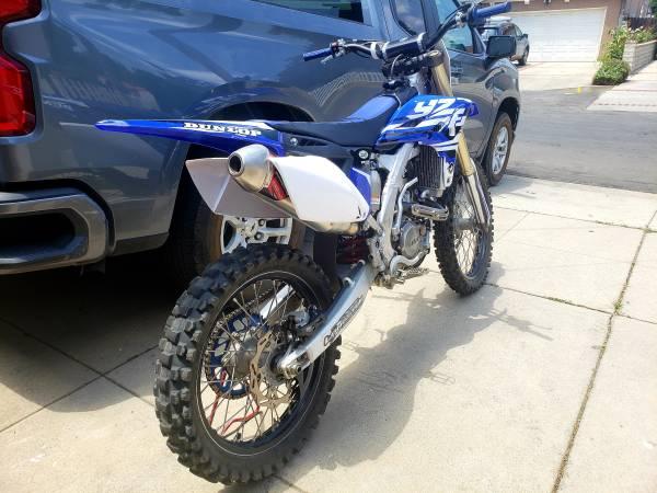 Photo Yamaha yz250f 2013  Dirt bike - $4,300 (LAKE BALBOA)