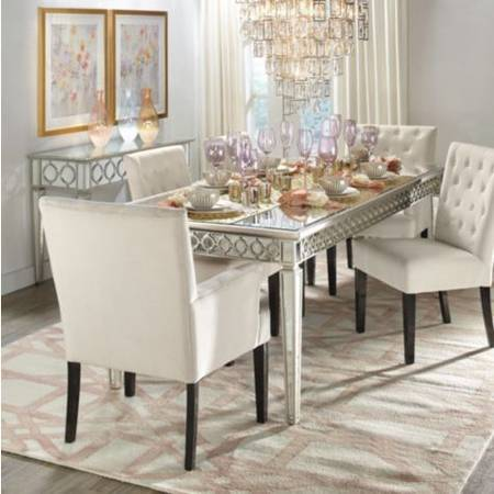 Photo Z Gallerie (BRAND NEW Sophie Mirrored Dining Table Originally $1,100 - $700 (Los Angeles)
