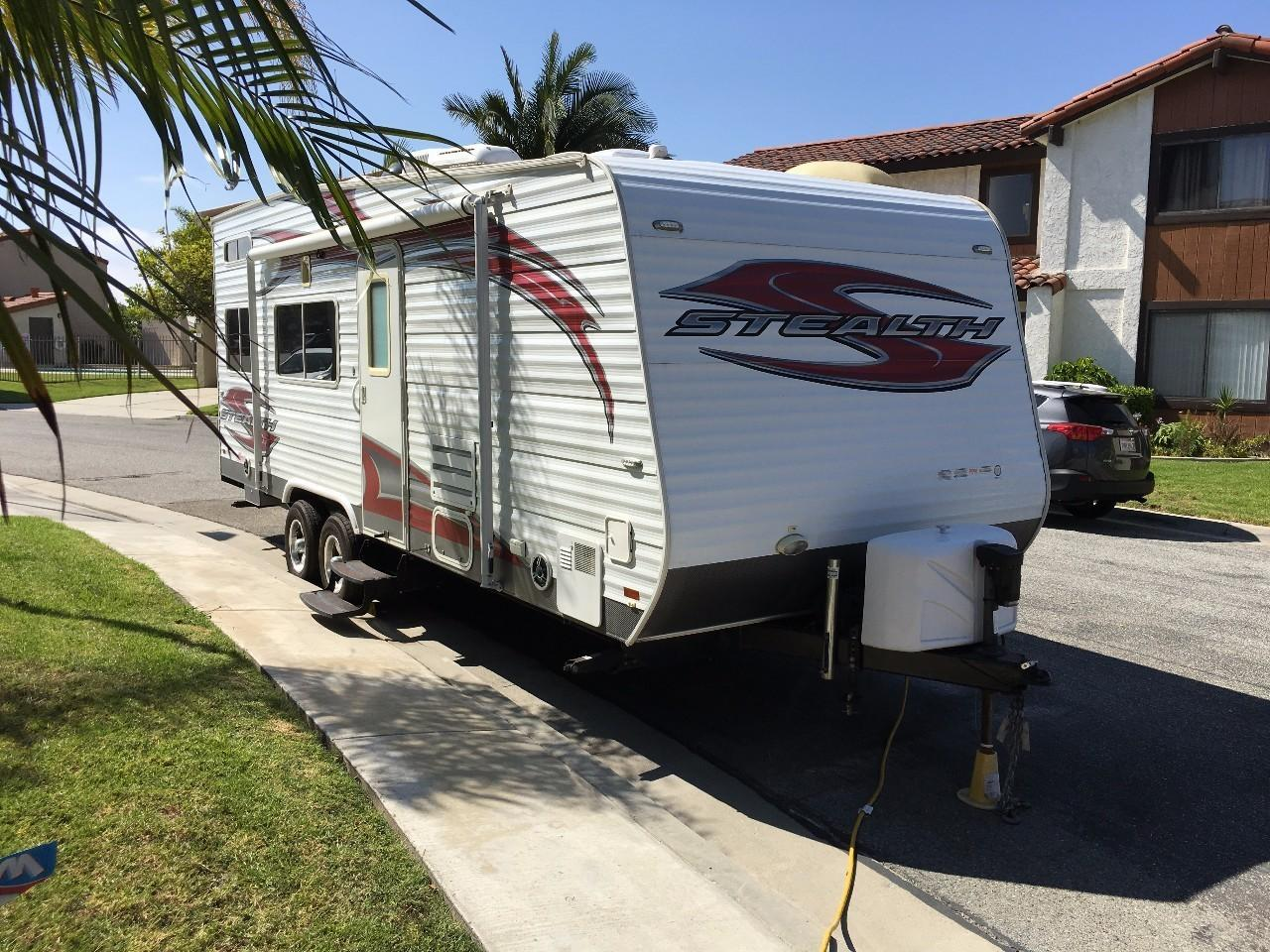 2012 Forest River STEALTH 2312 Toy Hauler $19950 | RV, RVs ...