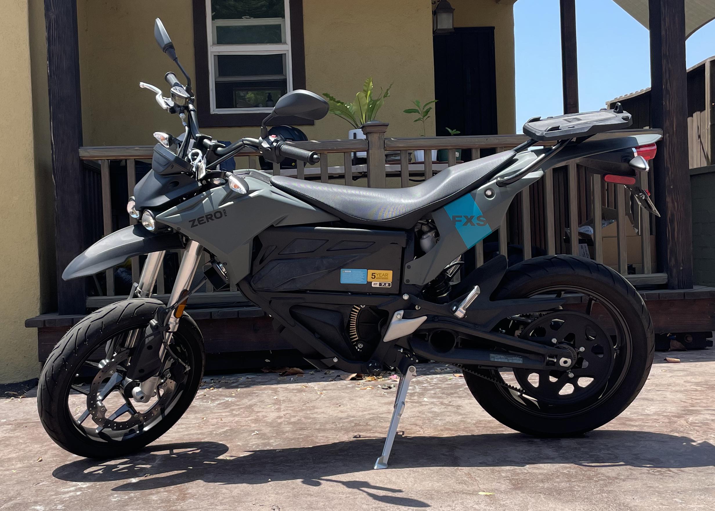 Photo Used 2020 Zero Motorcycles Electric Motorcycle Motorcycle  $10000