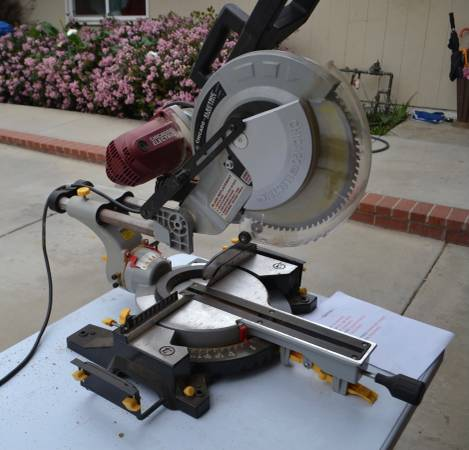 Photo chicago electric power tools 12quot double Bevel sliding compound miter I - $85 (west hills)