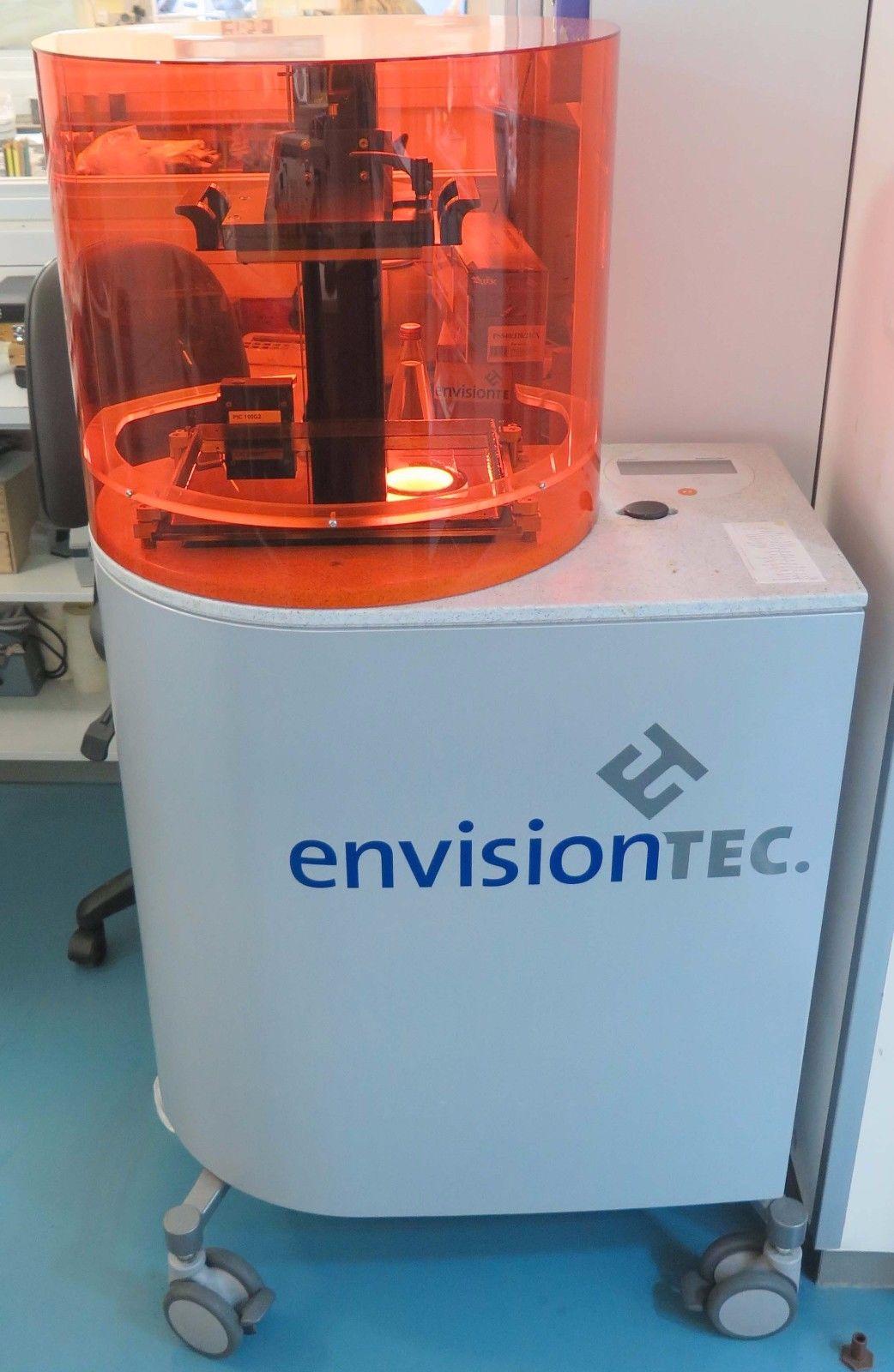 Photo Envisiontec Perfactory P4 MINI XL 3D Printer  Extras