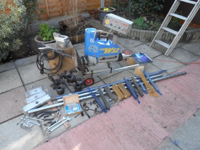 Photo Sir Meccanica WS2 line boring and welding machine tool