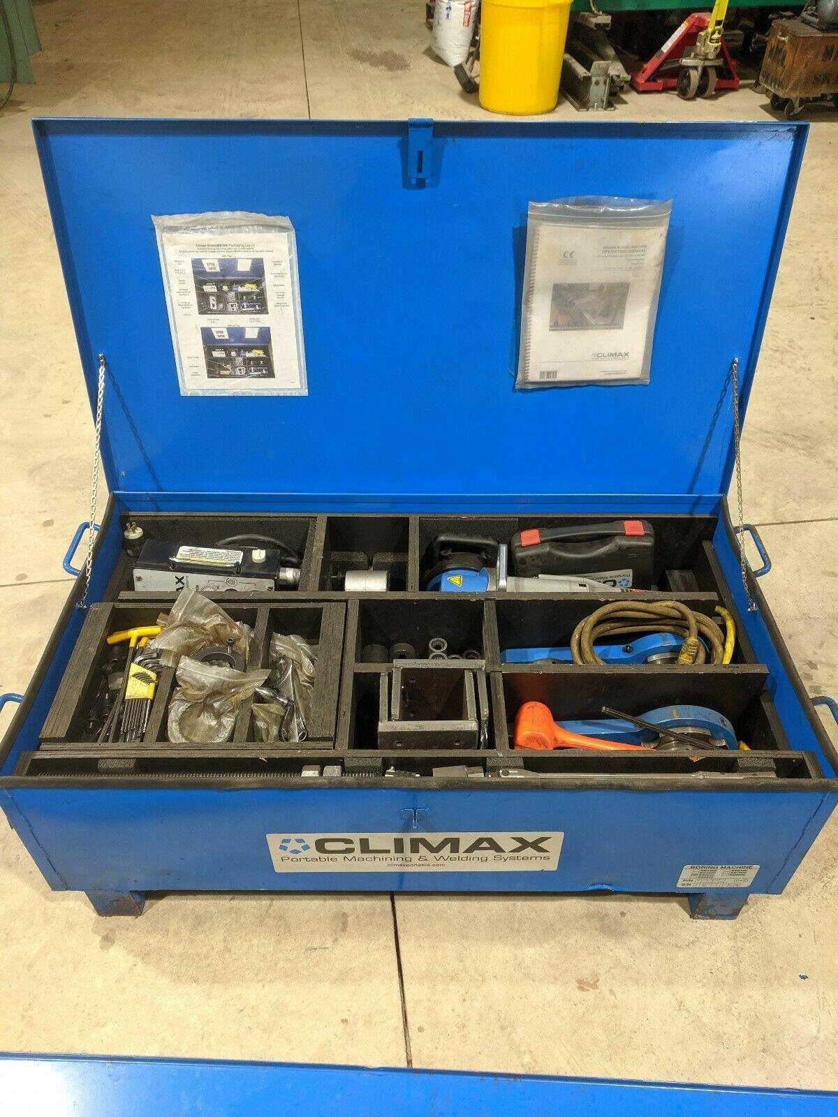 Photo 2014 Climax Portable Line Boring Machine BB5000