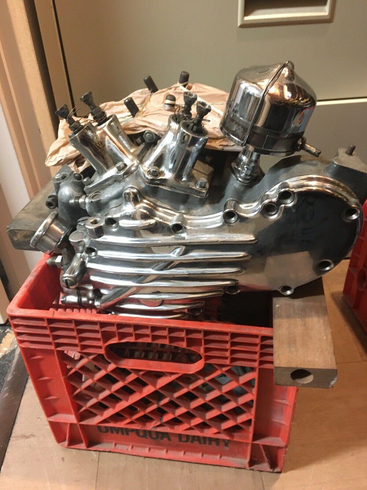 Photo 1947 Harley Davidson FL Knucklehead Engine