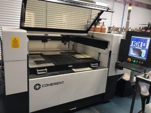 Photo 2015 Coherent Meta10C 1000 watt laser cutting machine
