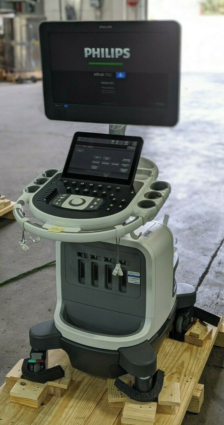Photo Philips Affiniti 70 Diagnostic Ultrasound Machine