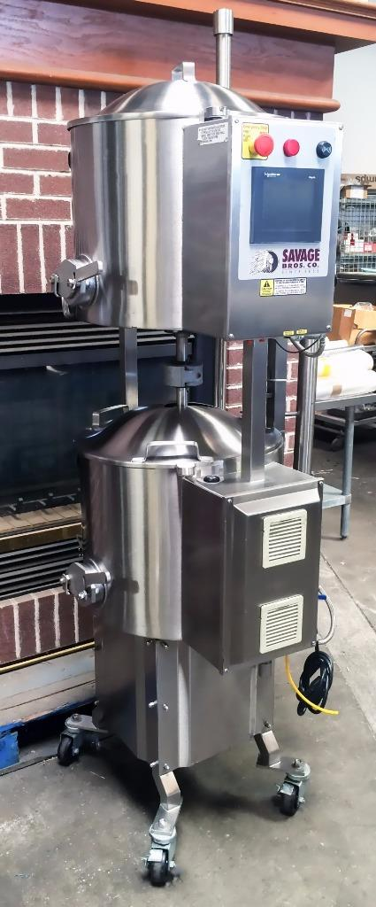 Photo 2012 Savage Bros. 0982-65 125LB Chocolate Tempering Machine