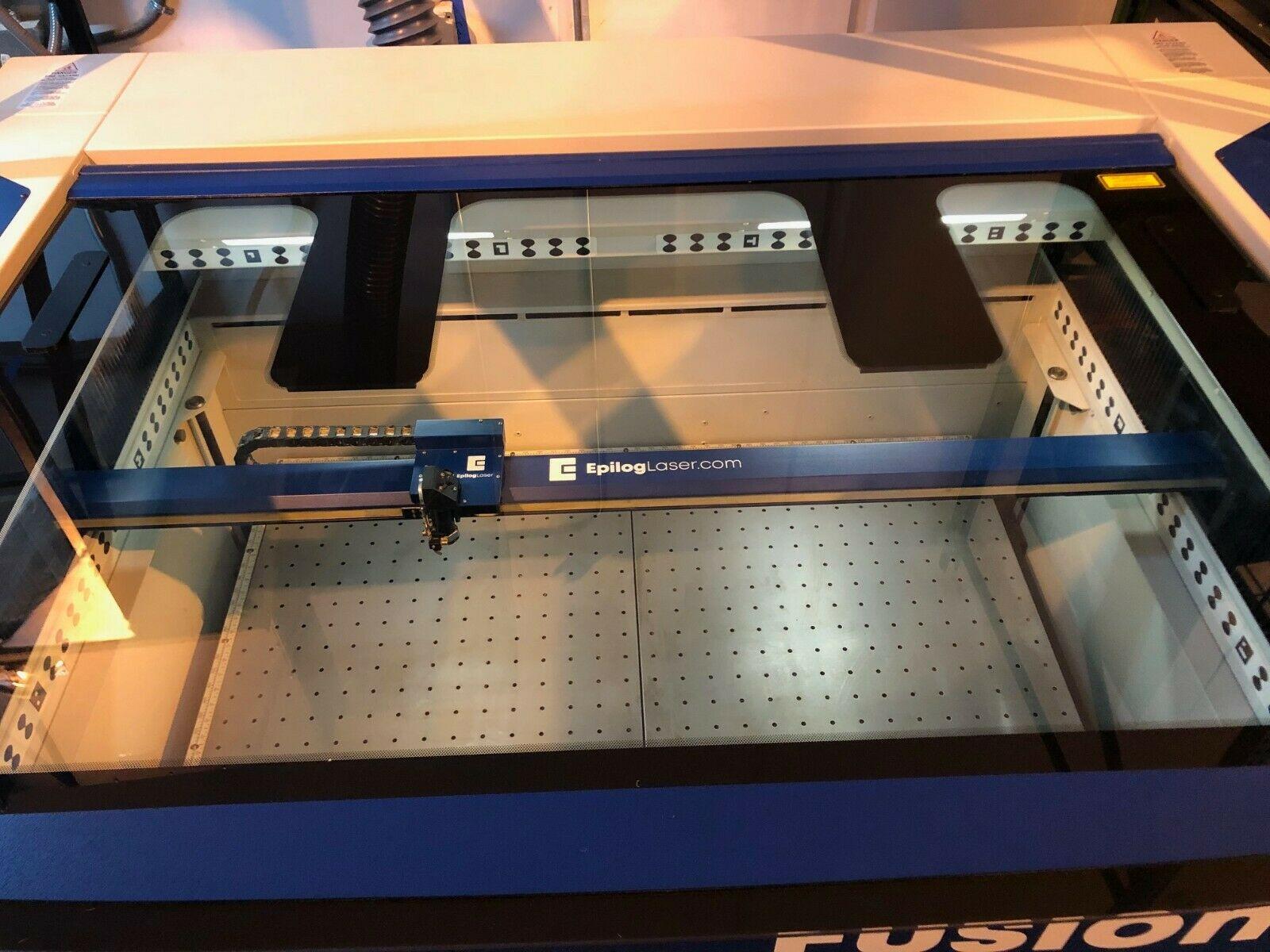 2019 Epilog Fusion Pro 48 50 Watt - Air Cooled High Performance Laser Engraver