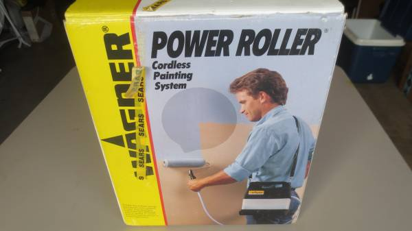 Photo wagner cordless power roller 4 quotDquot batteries - $45 (Downey)