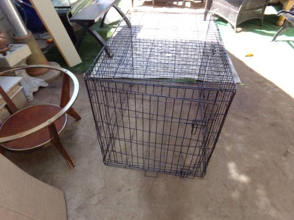 Photo x-large dog cage - $20 (signal hill)