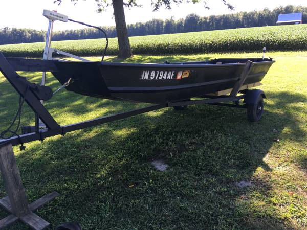 Photo 12 JON BOAT and TRAILER - $650 (Crothersville)