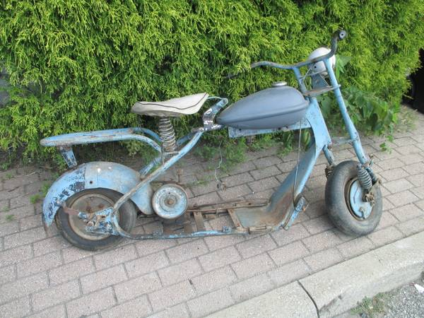1950's CUSHMAN MOTOR SCOOTER - $250 | Motorcycles For Sale ...