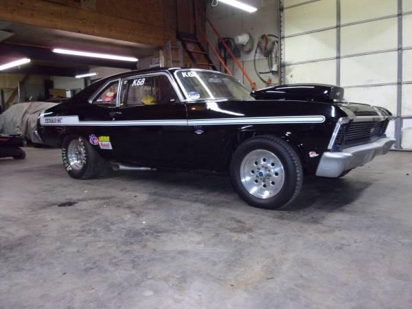 1968 Nova Yenko Drag Car - $12500 (Scottsville Ky) | Cars ...