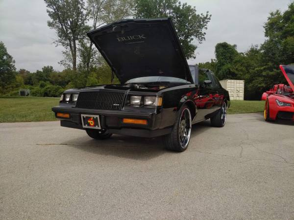 Photo 1987 Buick grand national 2 owner car - $45000 (Indiana)
