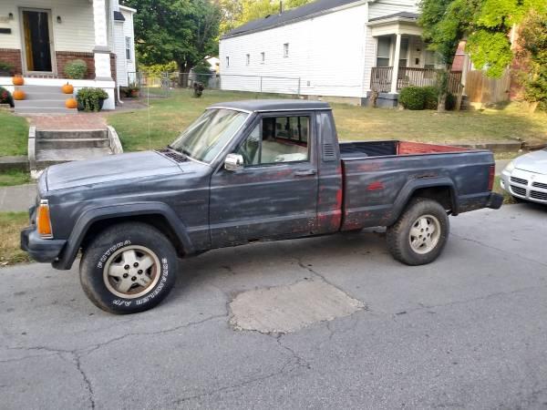 Photo 1988 jeep comanche - $2000 (Louisville)