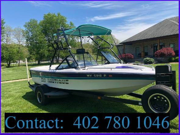 Photo 1995 19 Ski Nautique boat, Mint condition Completely serviced - $1,600 (louisville)