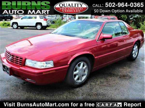 Photo 1-Owner 72,000 Miles 2001 Cadillac Eldorado Touring Cpe ETC Sunroof - $6,975 (Louisville, KY)