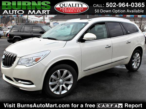 Photo 2014 Buick Enclave CXL-2 AWD 3rd Row Dual Sunroofs Leather - $13995 (Louisville, KY)