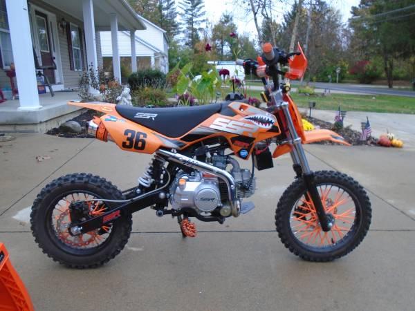Photo 2020--125 cc----SSR DIRT BIKE AUTOMATIC - $1,450 (South Lebanon, OH)