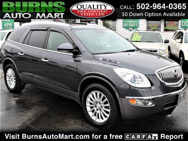 Photo 3rd Row 2012 Buick Enclave CXL-2 Sunroof Leather Backup Camera - $9995 (Louisville, KY)