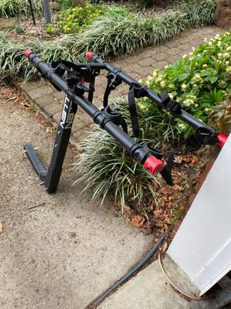 Photo Allen Sports Deluxe 5-Bicycle Hitch Mounted Bike Rack, 552RR - $125 (40205)