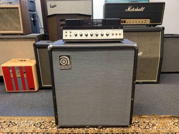 Photo Ampeg B-15S Portaflex Fliptop 1973 Bass or Guitar Amp (Just Serviced) - $1500 (Bowling Green)