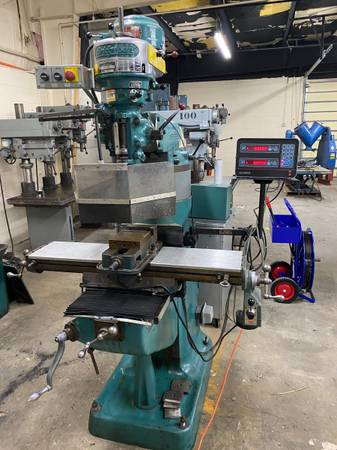 Bridgeport Series I Standard Milling Machine with 9quot x 42quot Table, J H - $3,800 (Louisville)