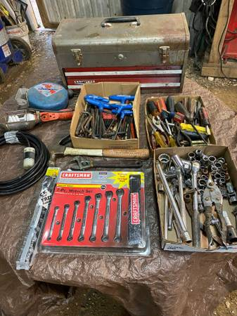 Photo Craftsman tool lot - $100 (Mauckport, IN)