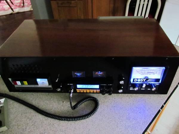 Photo Custom Built Cb Radio ,Rci 2950,Texas Star 500  ,Dosy, 1 of a Kind (Southern Indiana- Brandenbubrg KY Area)