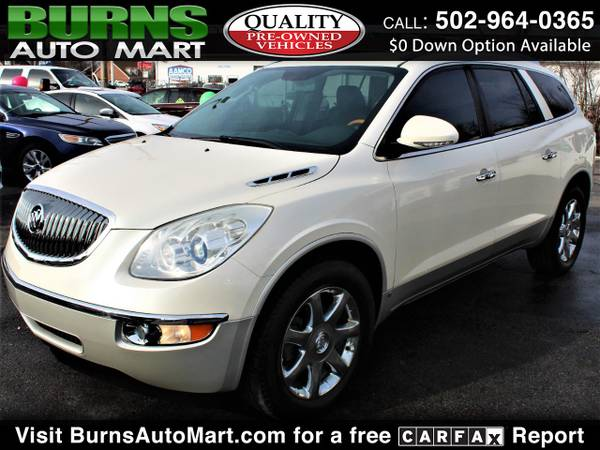 Photo Dual Sunroof 3rd Row 2009 Buick Enclave CXL-2 Leather - $7995 (Louisville, KY)