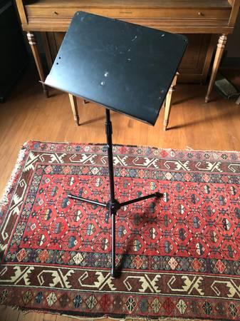 Photo Folding Music Stand - $5 (LouisvilleJeffersonville, IN)