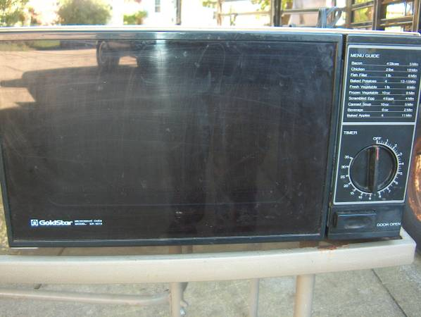 Small Countertop Microwave Oven