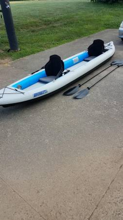 Photo Inflatable Kayak Sea Eagle 465FT - $800 (Jeffersonville area)