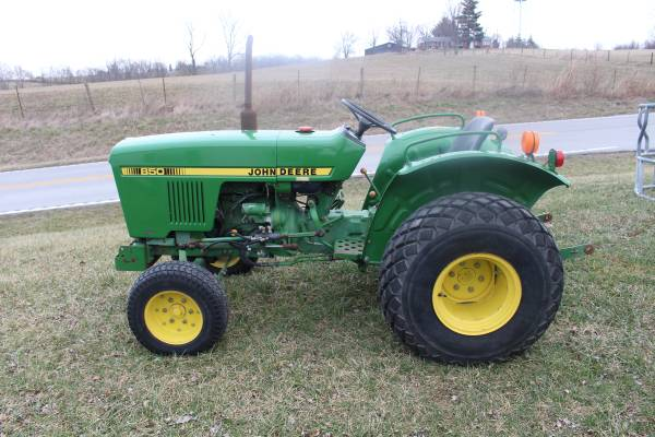 Photo John Deere 850 Tractor - $6,950 (New Castle , Ky)