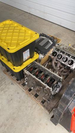 Photo Lt4 supercharged corvette engine - $8000