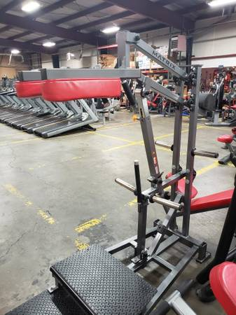 Photo Matrix Commercial Plate Loaded Squat Machine - $999 (Fitness MarketTreadmill Medic)