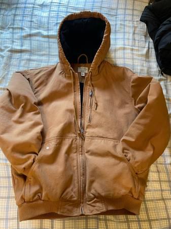 Photo Mens Large Cabelas version of Carhartt brown duck jacket - $30 (Louisville)