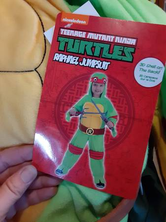 Photo New mutants ninja costume Halloween 18 month-2t - $10 (Georgetown)